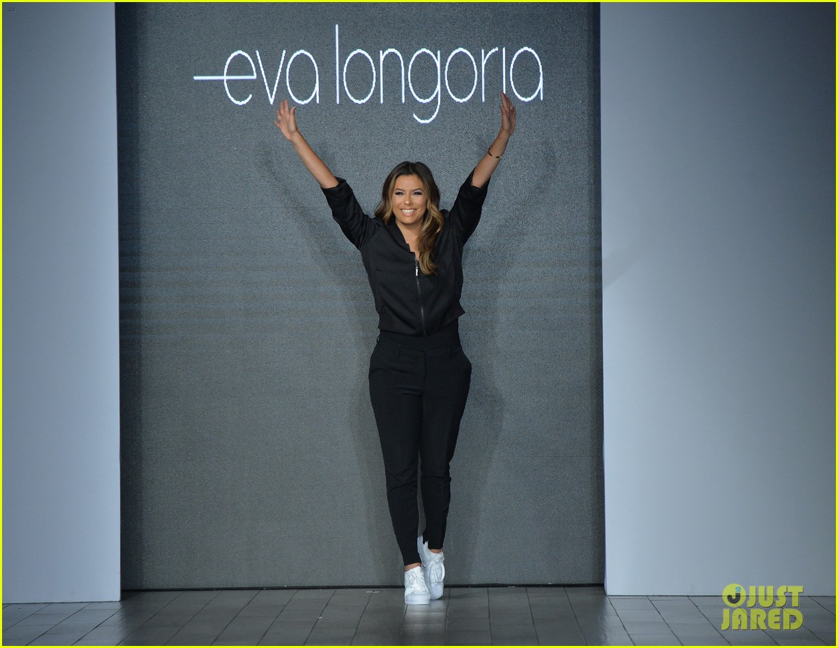 eva longoria debuts her new fashion collection at nyfw 023956612