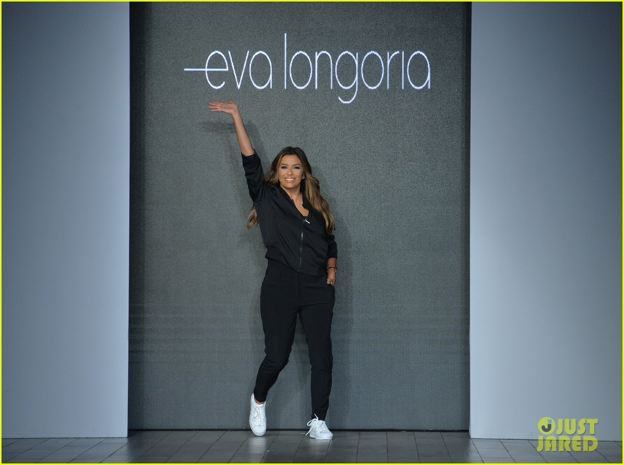 eva longoria debuts her new fashion collection at nyfw 093956619