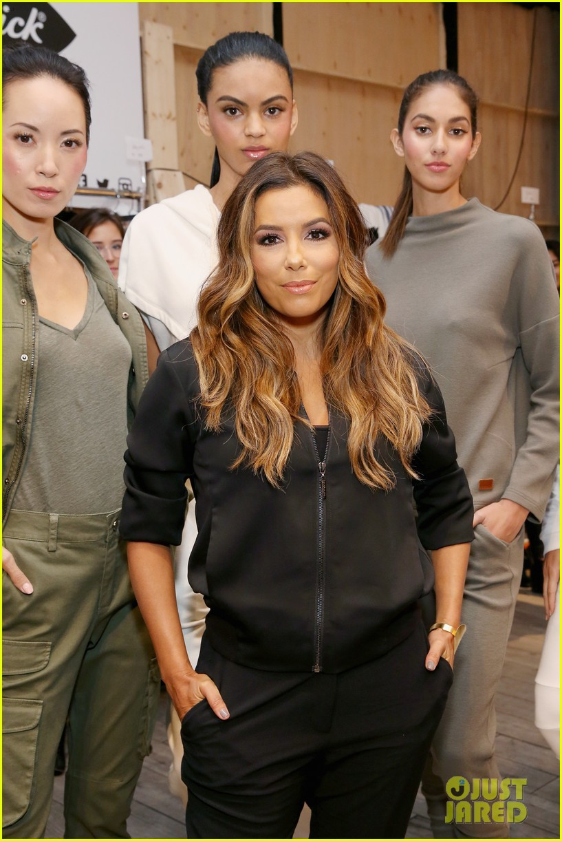 eva longoria debuts her new fashion collection at nyfw 123956622
