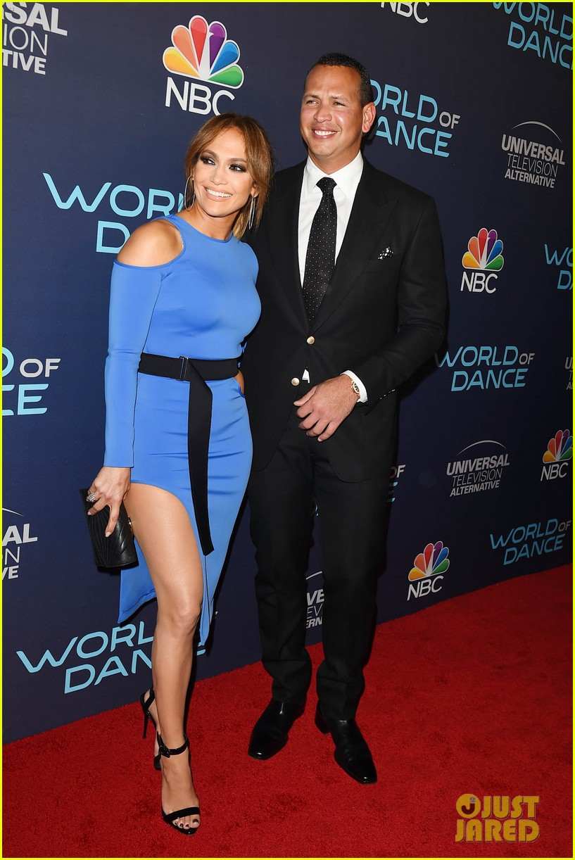 jennifer lopez alex rodriguez couple up at world of dance event 013961173
