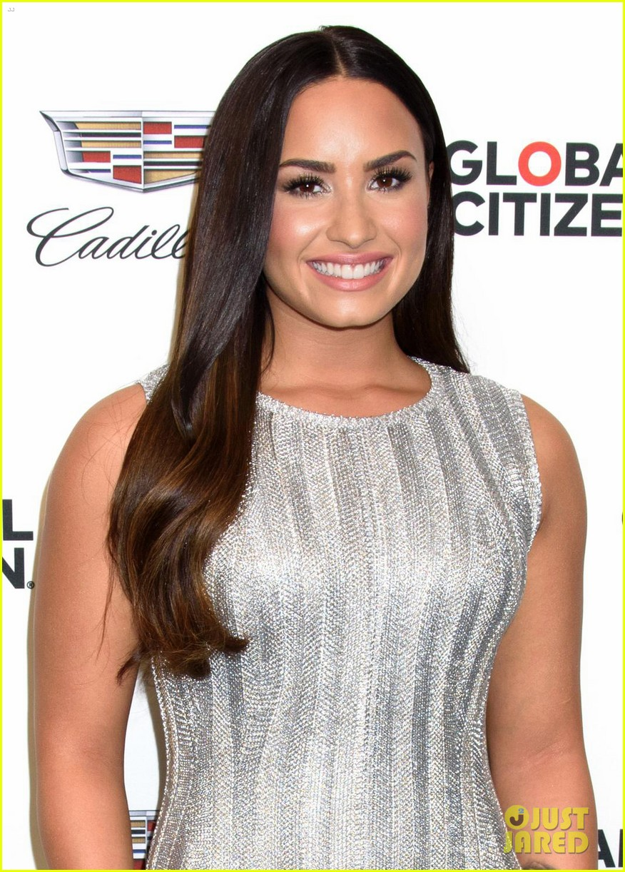 demi lovato dazzles at global citizen event in nyc 013962318