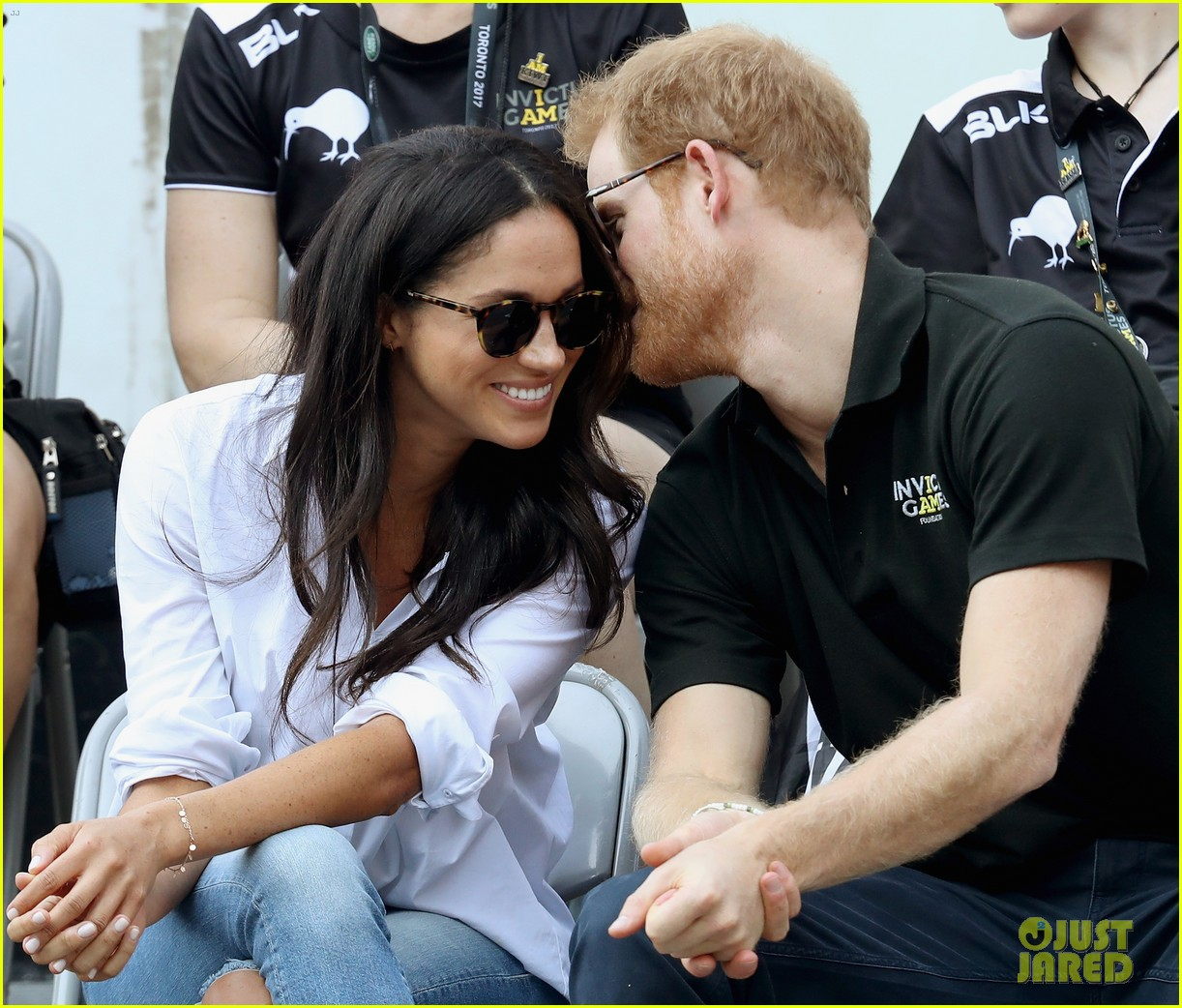 Meghan Markle's first joint appearance with boyfriend Prince Harry