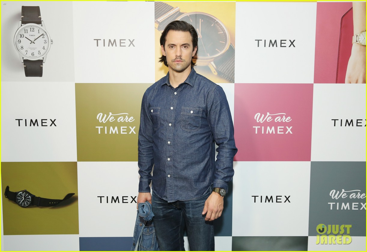 milo ventimiglia hosts we are timex event  033964430