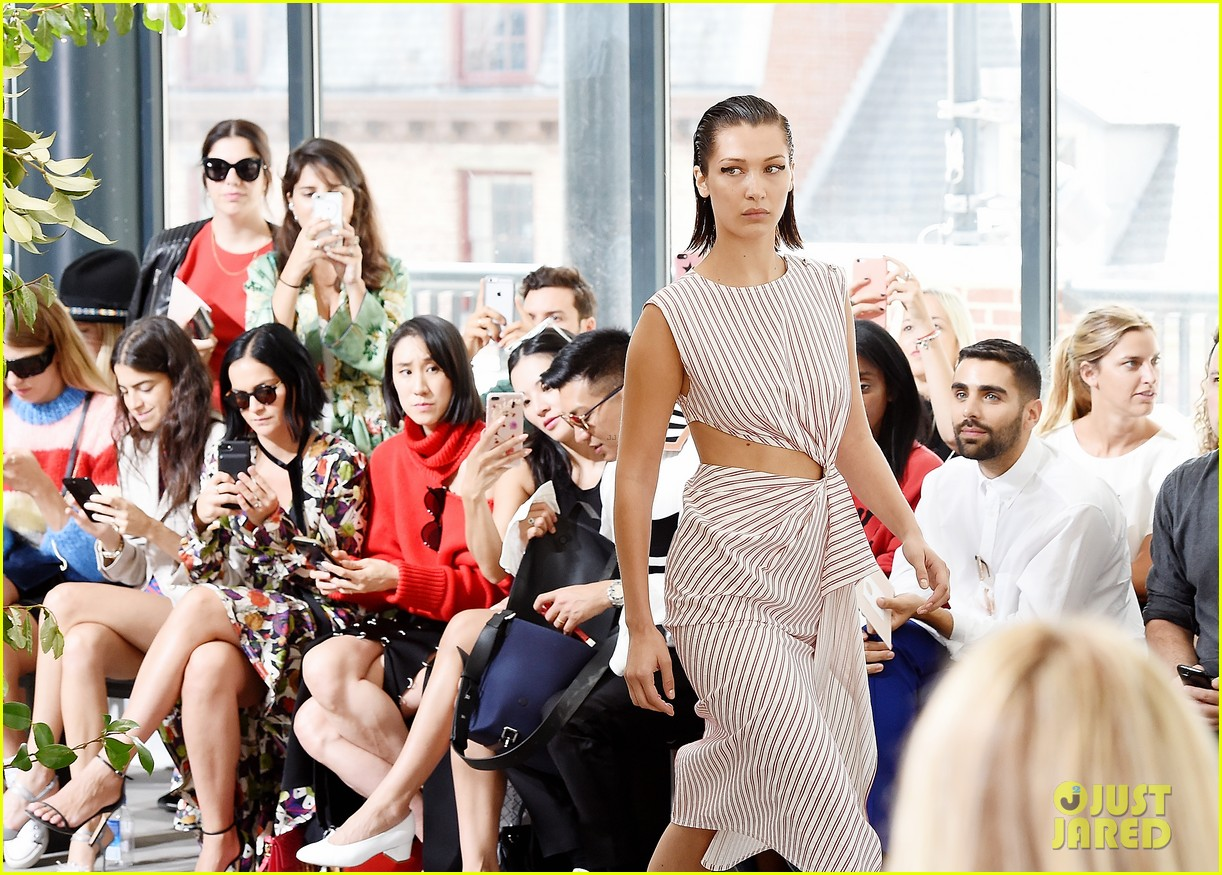 nicki minaj kate bosworth and jaime king step out for monse show during nyfw 173953309