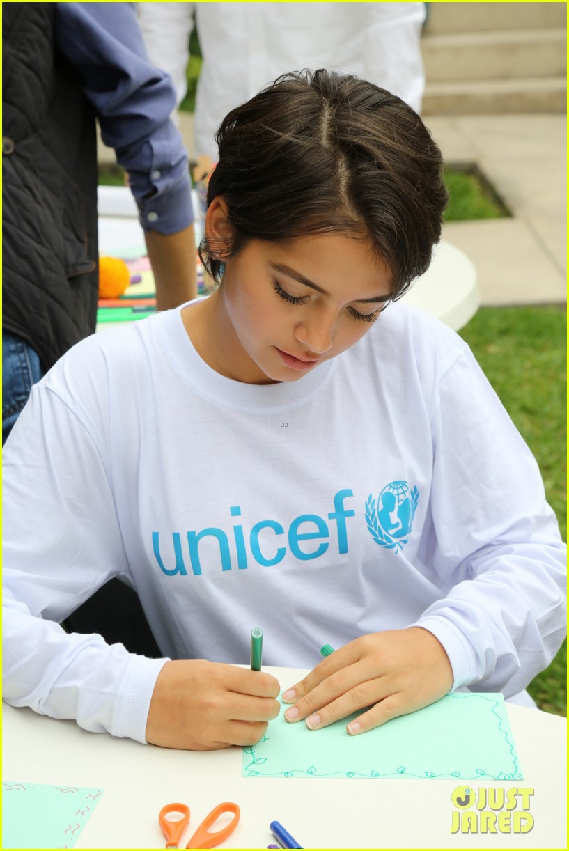 isabela moner humbled honored to be part of unicef peru experience 013949869