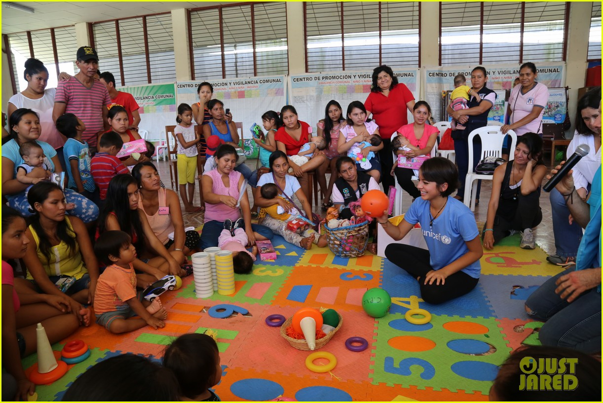 isabela moner humbled honored to be part of unicef peru experience 033949871