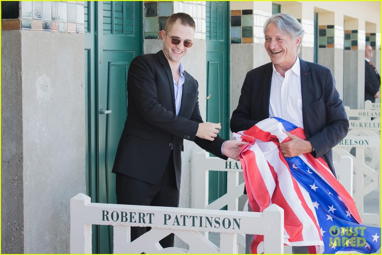 robert pattinson debuts new buzz cut at deauville film fest 253949404