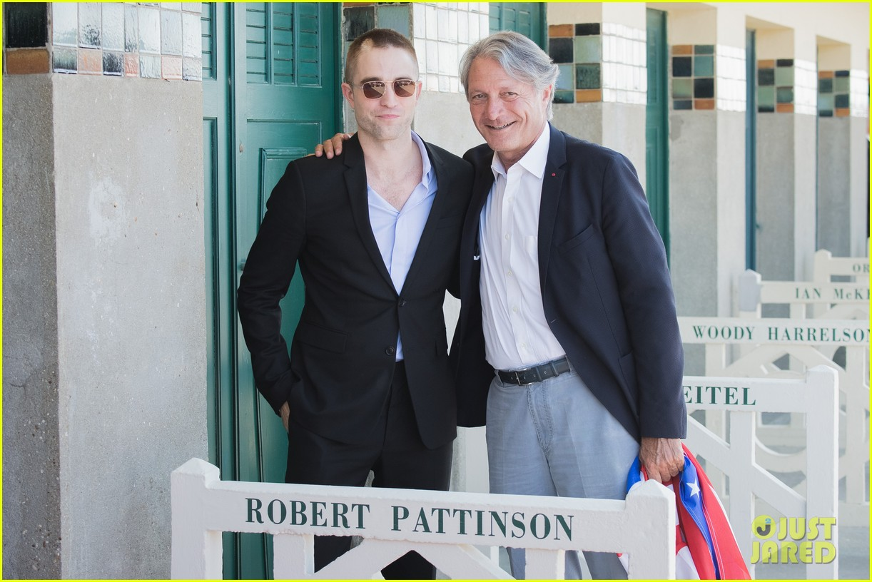 robert pattinson debuts new buzz cut at deauville film fest 293949408