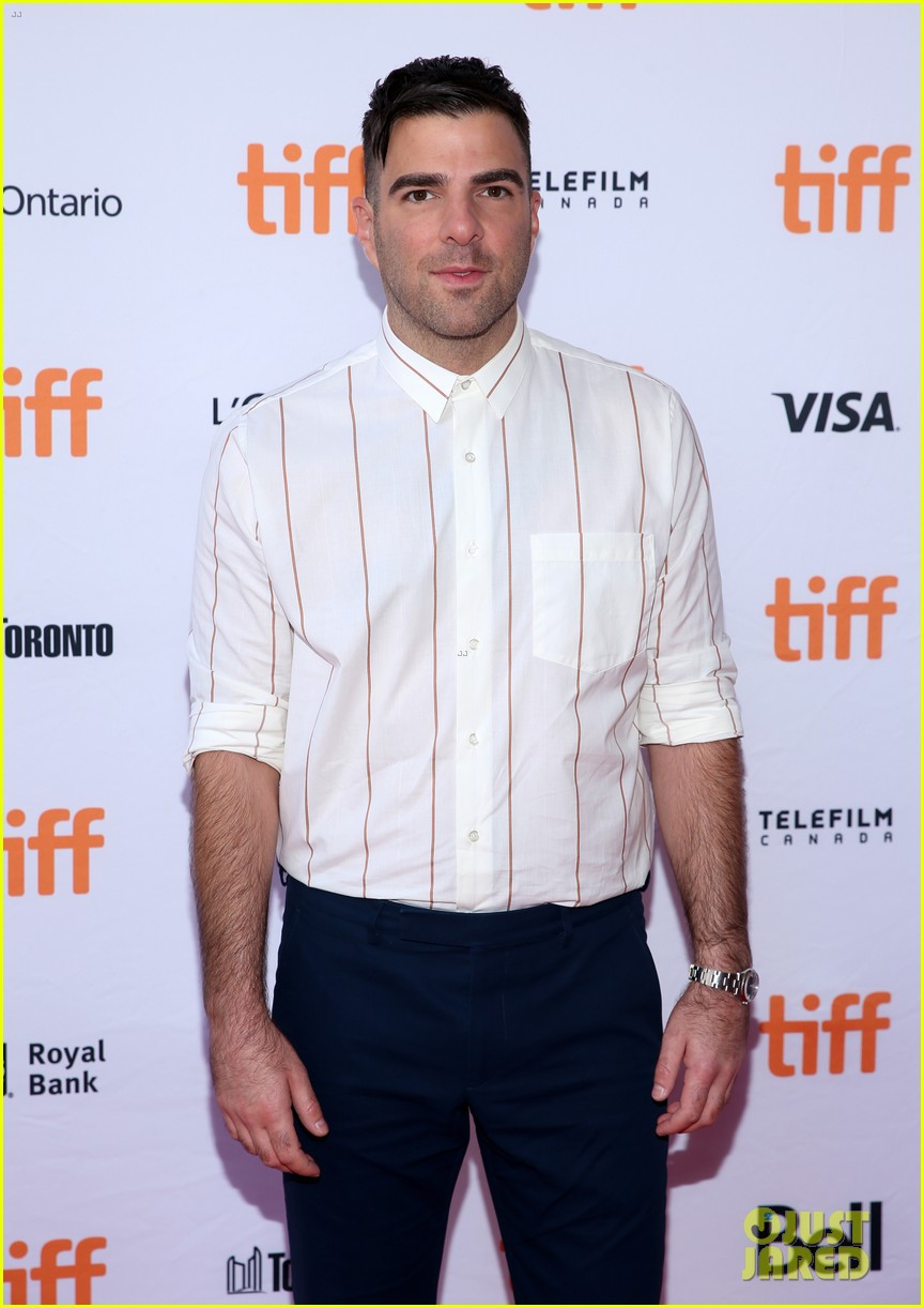zachary quinto emma roberts premiere who are we now at tiff 093954407