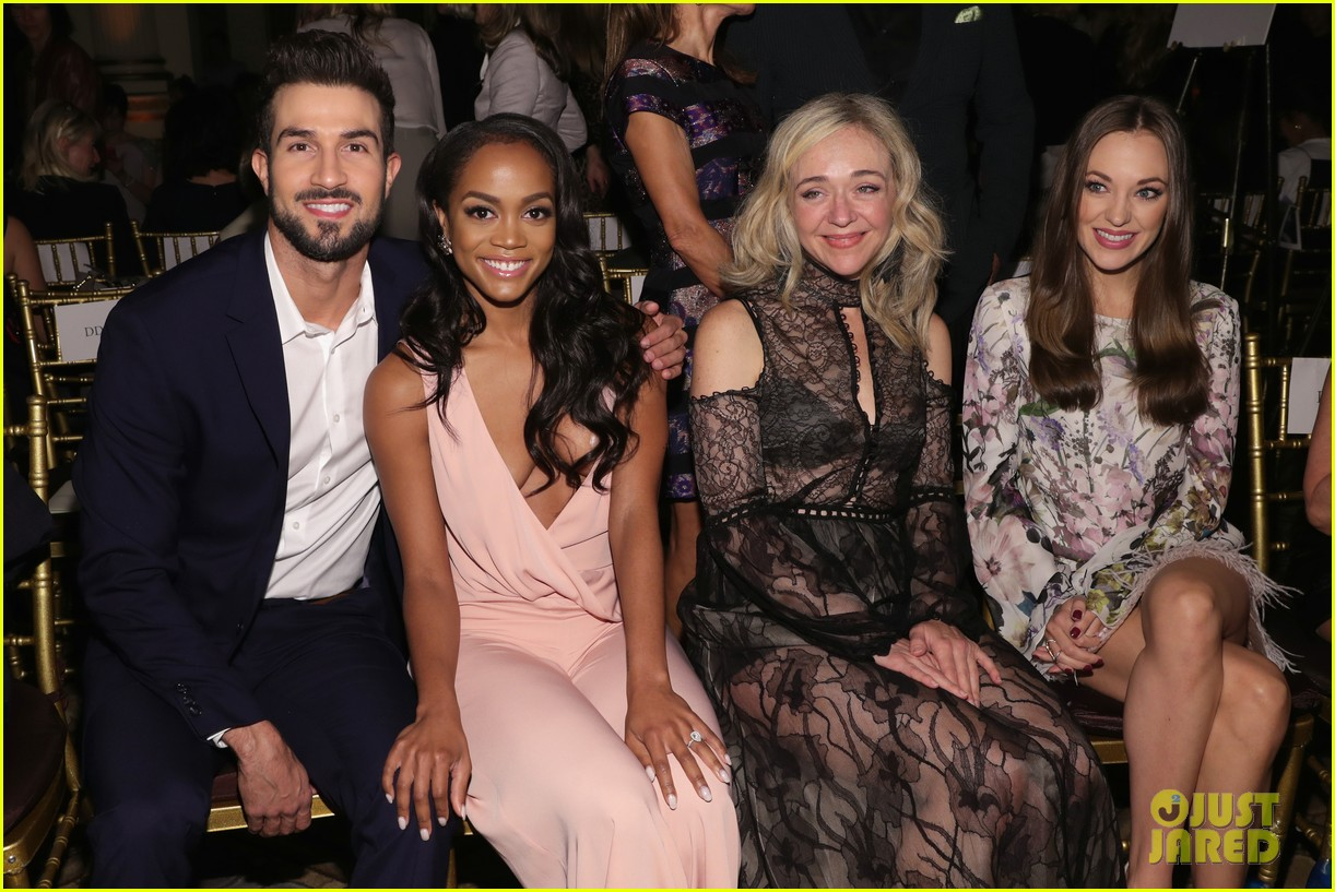 rachel lindsay bryan couple up nyfw 033955285