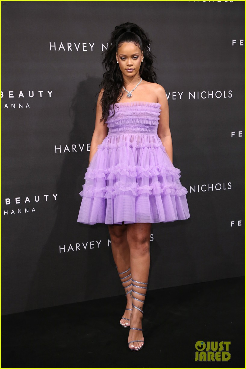 rihanna fenty beauty launch london 013960951