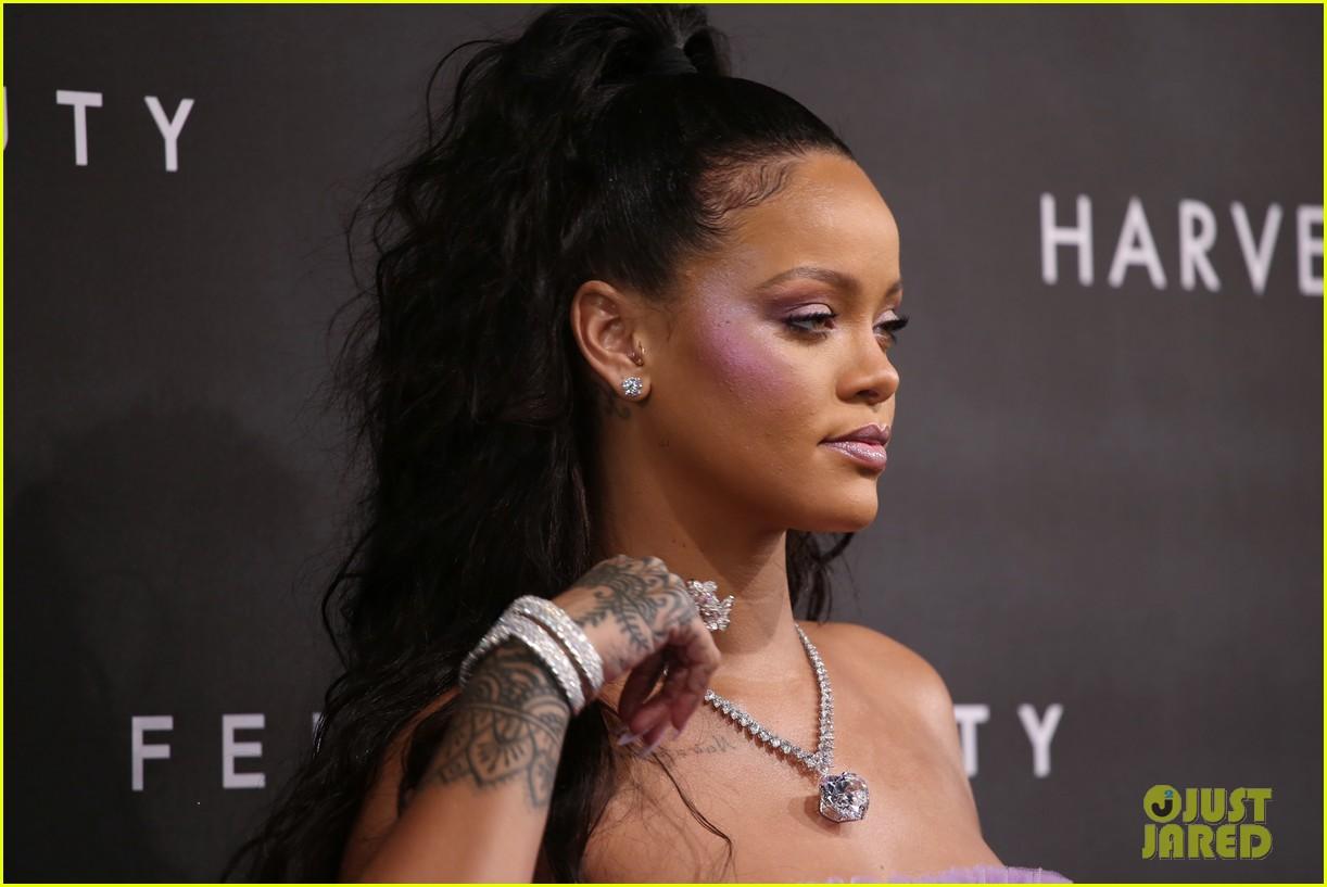 rihanna fenty beauty launch london 043960954