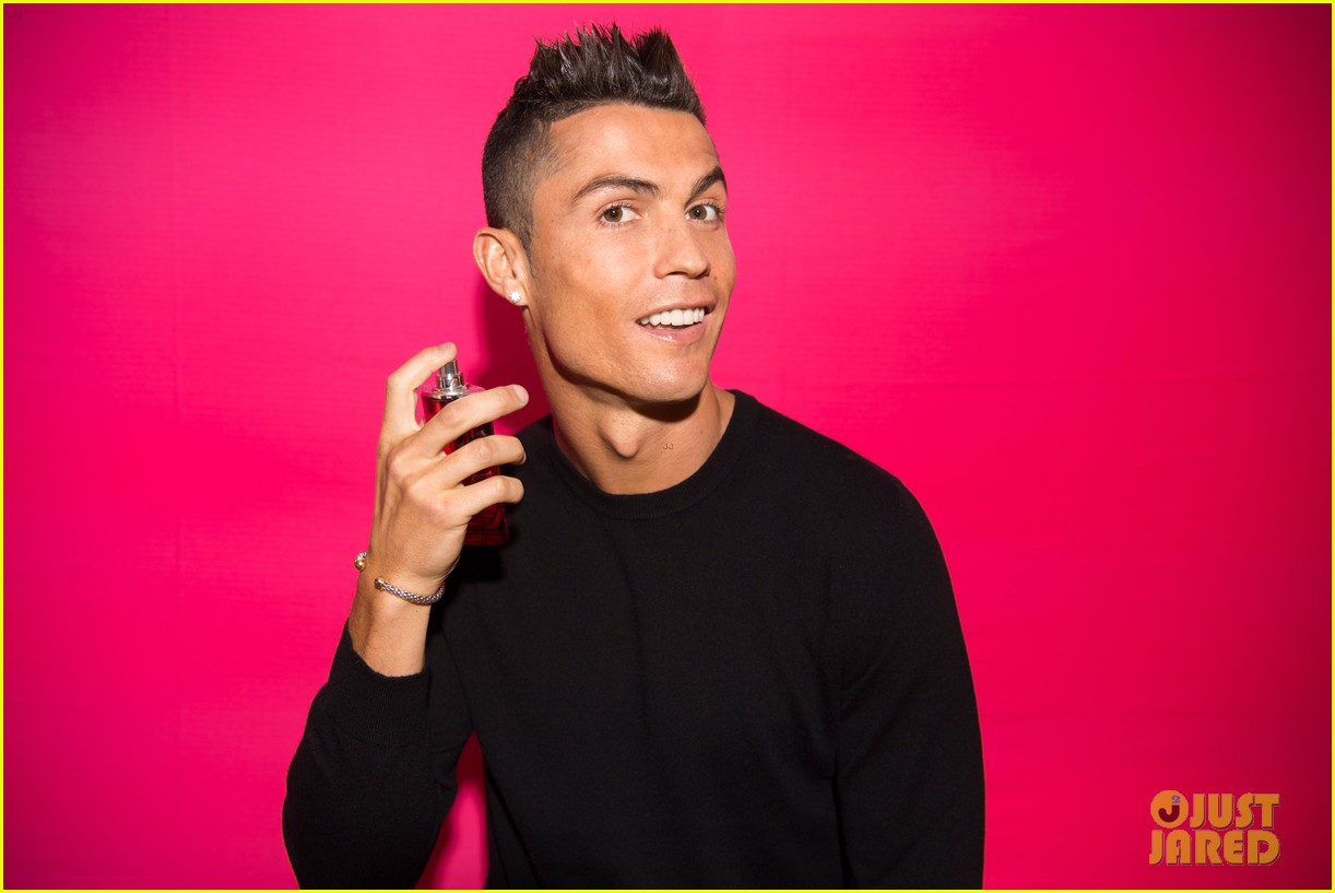 cristiano ronaldo fragrance launch event 023954740