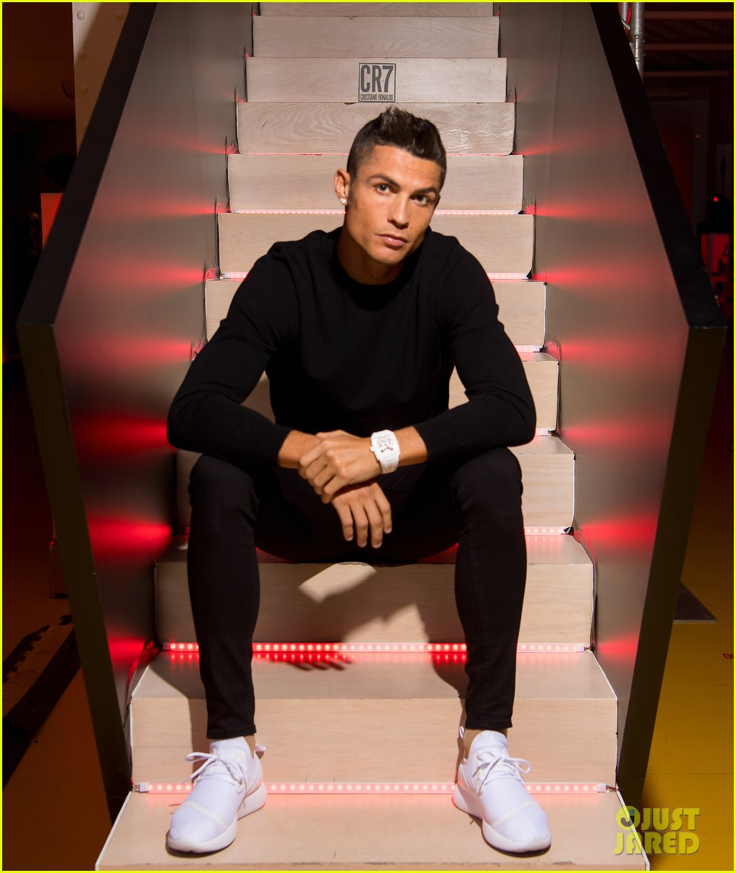 cristiano ronaldo fragrance launch event 033954741