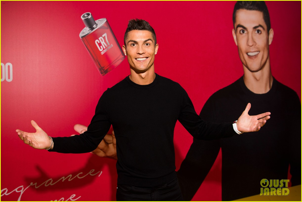 cristiano ronaldo fragrance launch event 053954743
