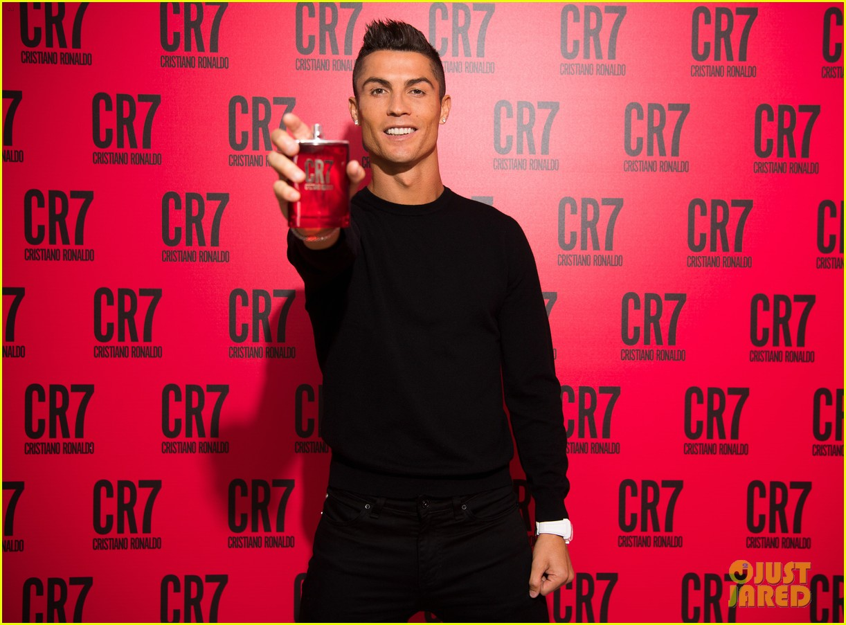 cristiano ronaldo fragrance launch event 123954750