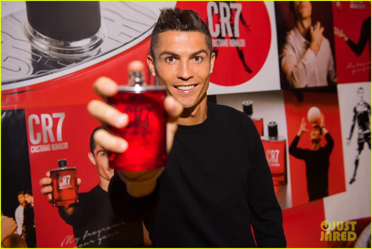 cristiano ronaldo fragrance launch event 163954754