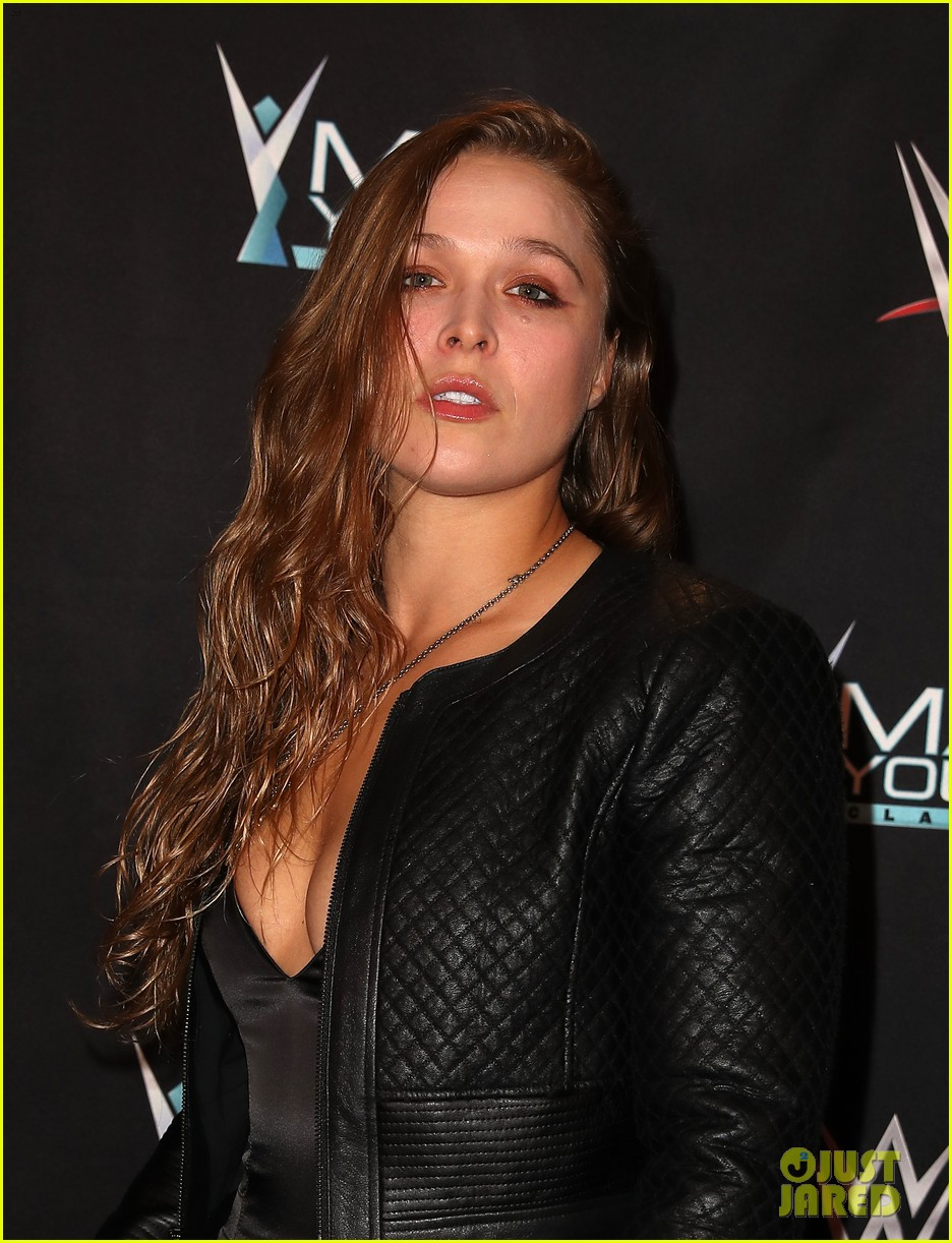ronda rousey attends first event since tying the knot 053956238