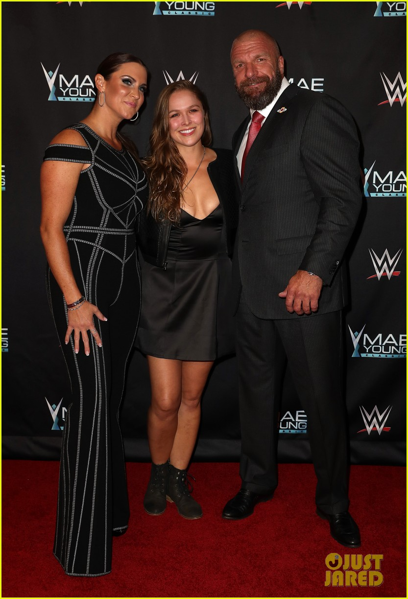 ronda rousey attends first event since tying the knot 103956243
