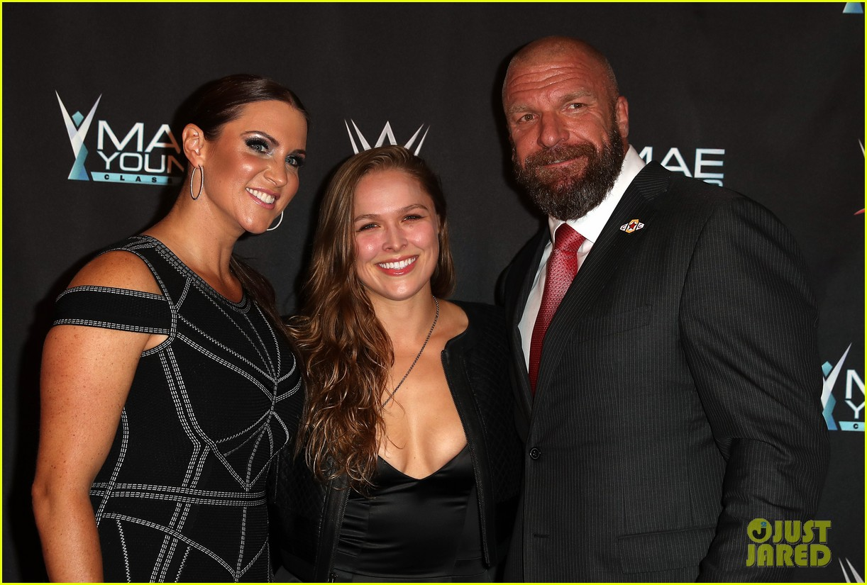 ronda rousey attends first event since tying the knot 113956244