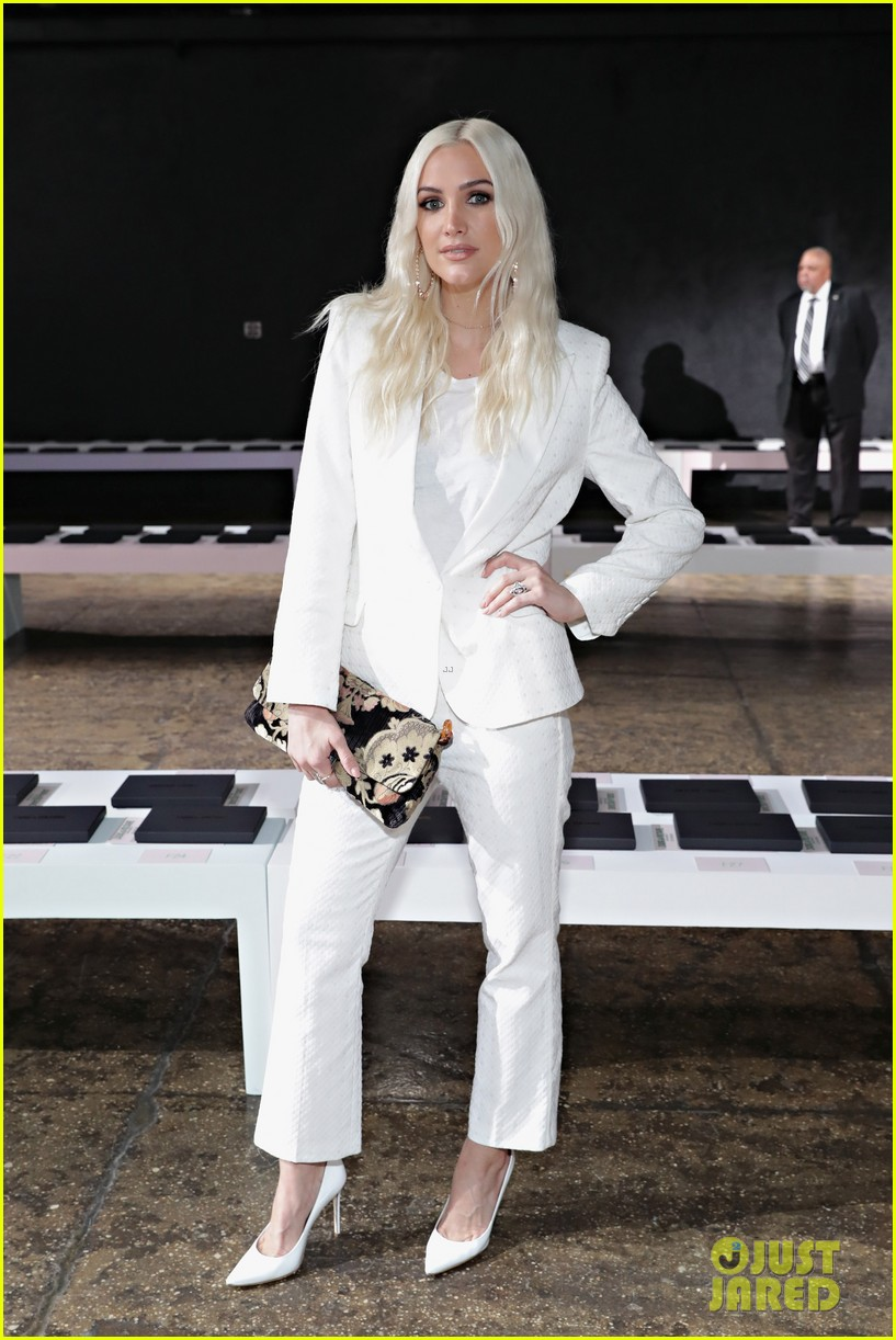 ashlee simpson and evan ross couple up for nyfw zadig voltaire nyfw show 013955521