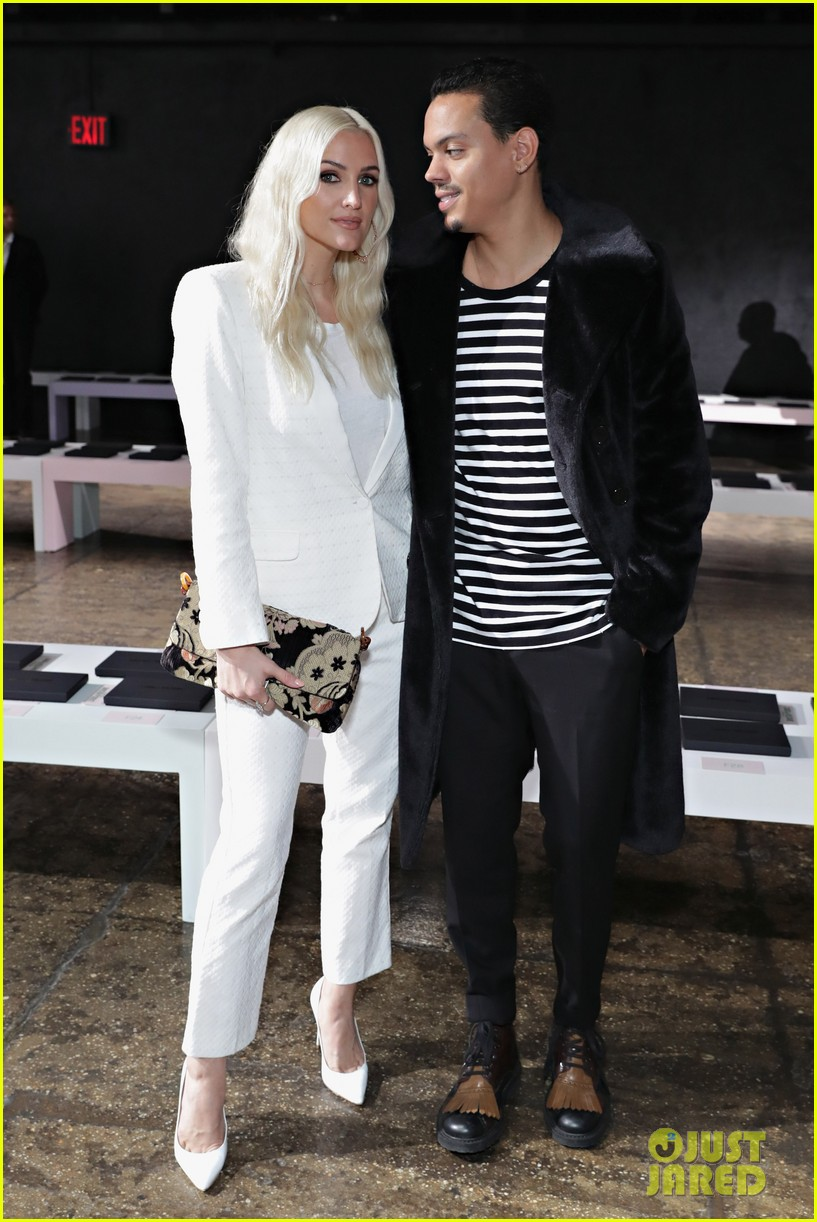 ashlee simpson and evan ross couple up for nyfw zadig voltaire nyfw show 093955529