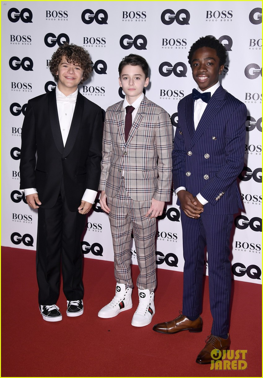 jaden smith joins the guys of stranger things at gq man of the year awards 043951158
