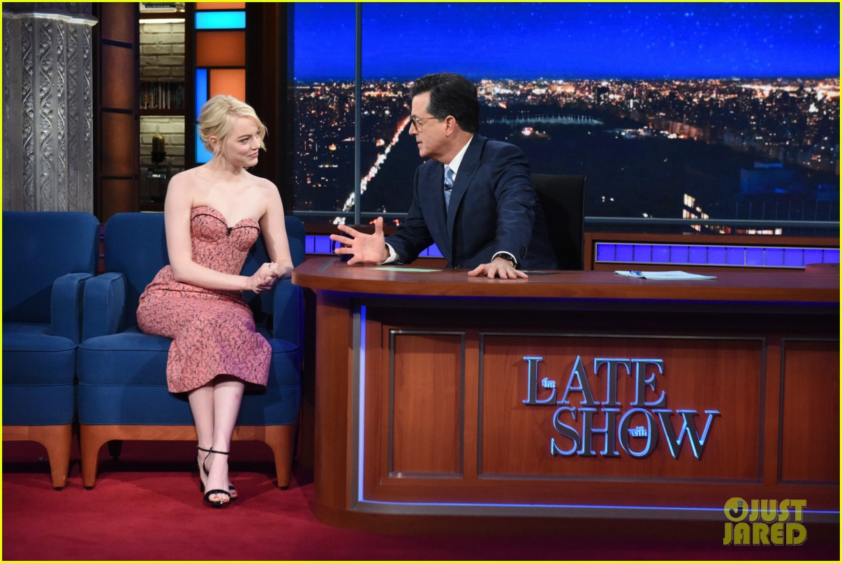 emma stone talks lifelong struggle with anxiety on the late show 013961427