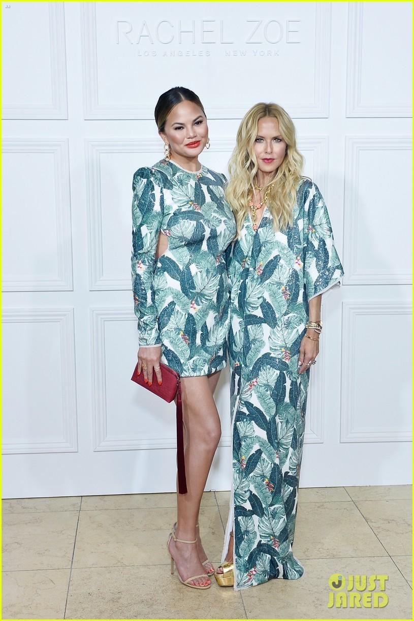 chrissy teigen rachel zoe matching dresses 103950957