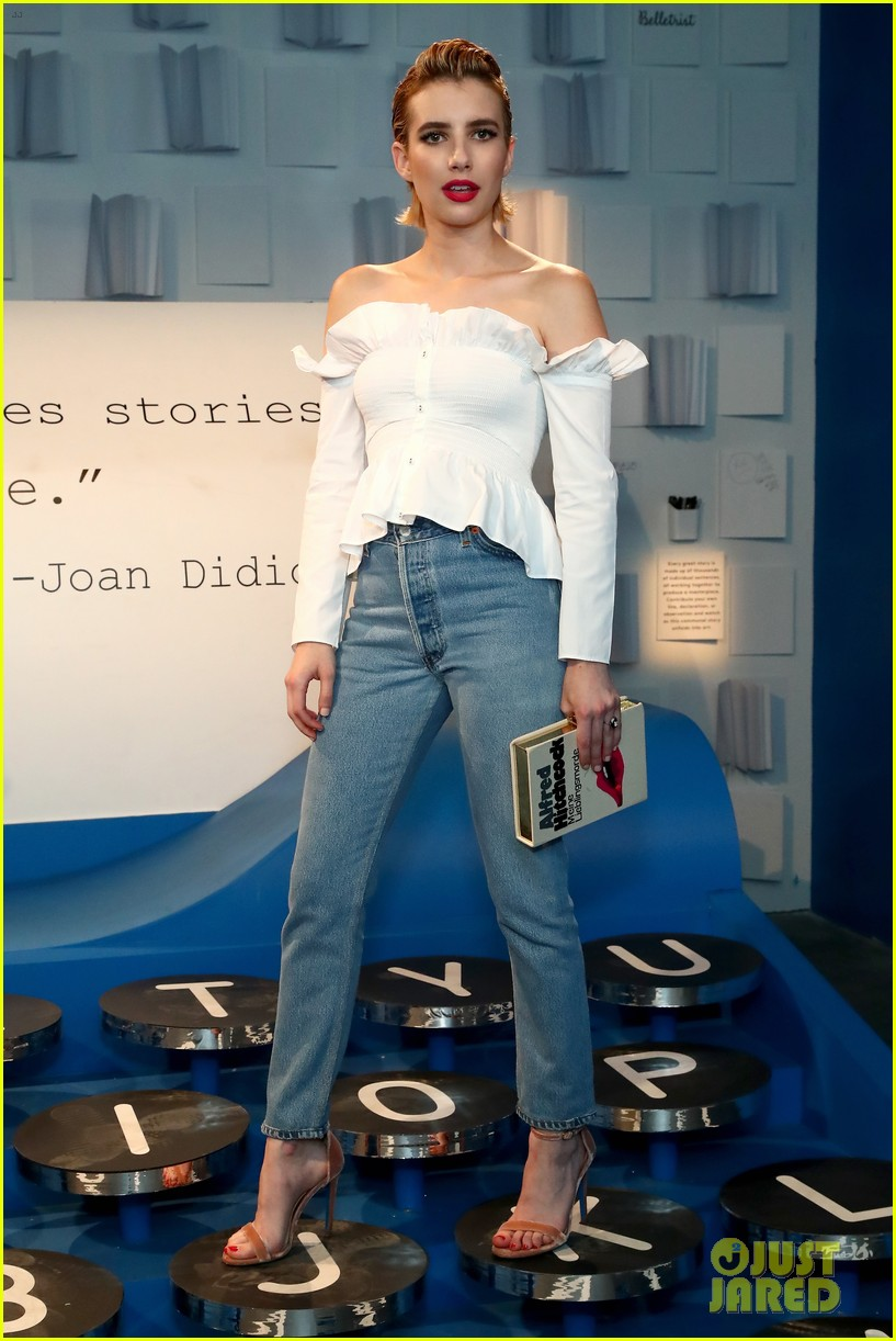 bella thorne emma roberts and ashley benson step out for 29rooms event 343952949