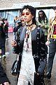 fka twigs salma hayek check out christopher kane fashion show 13
