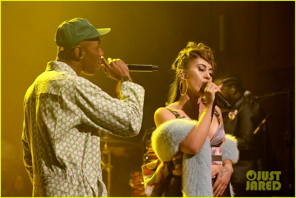 tyler the creator kali uchis perform see you again on tonight show 013965730