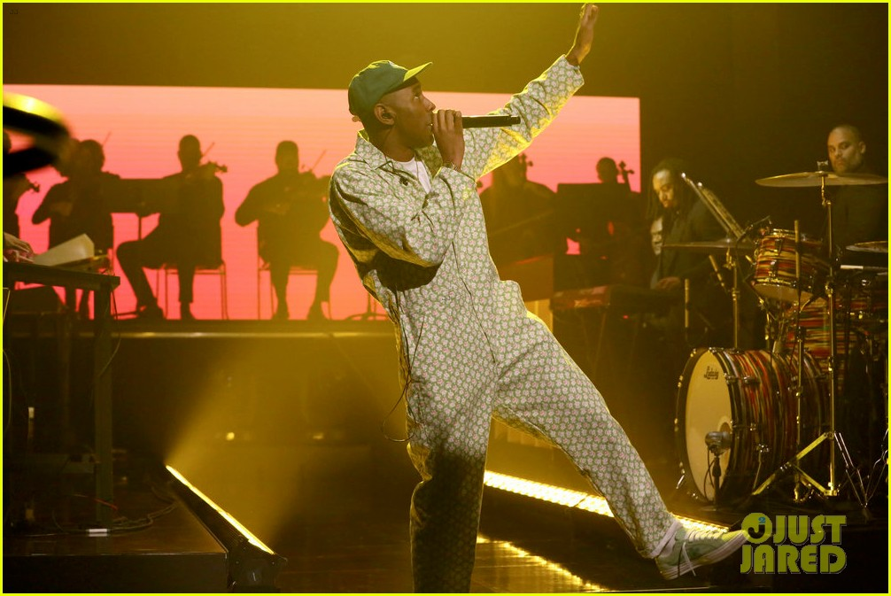 tyler the creator kali uchis perform see you again on tonight show 023965731