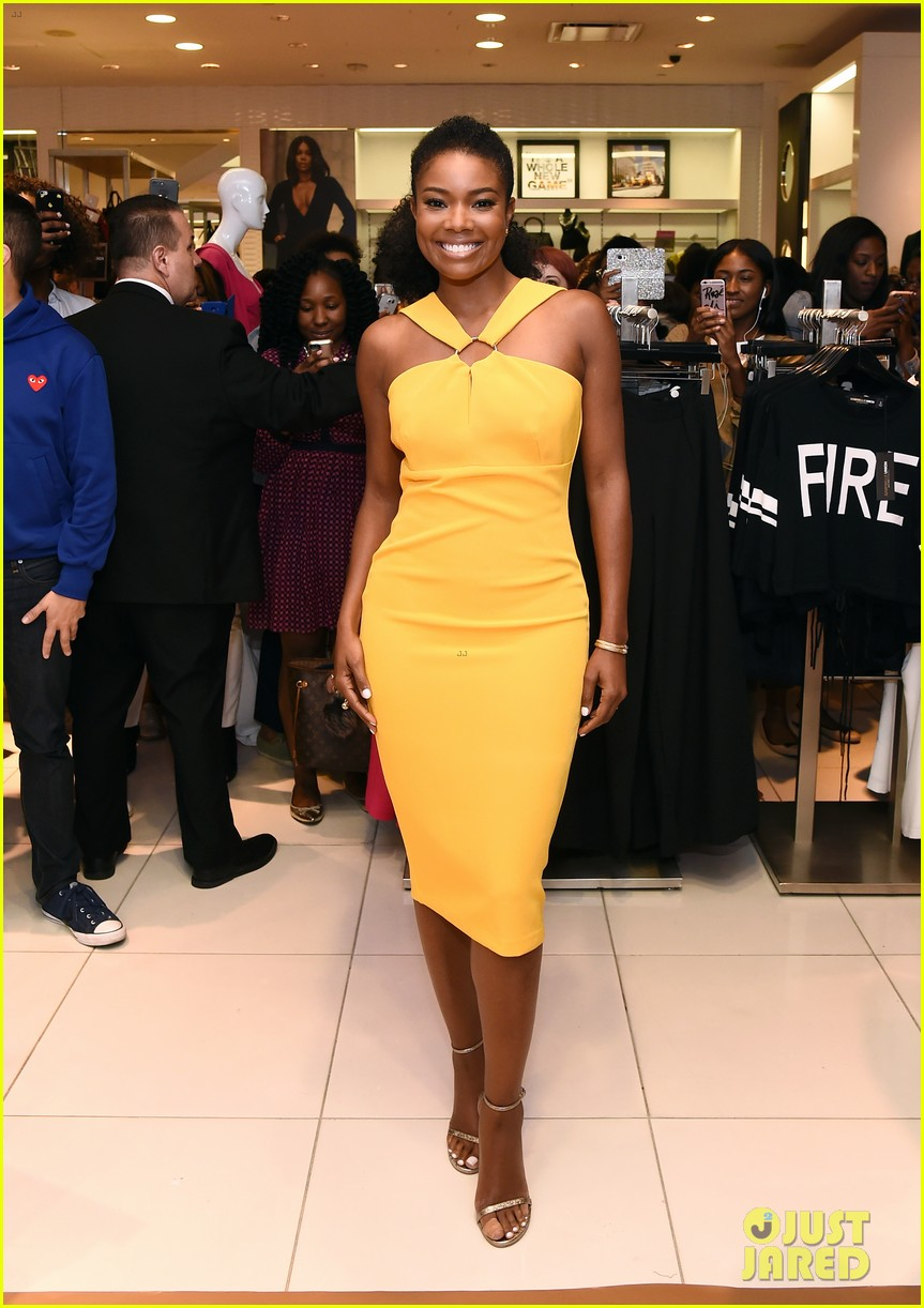 617268b0cfc Gabrielle Union Launches Her New York   Company Collection During NYFW