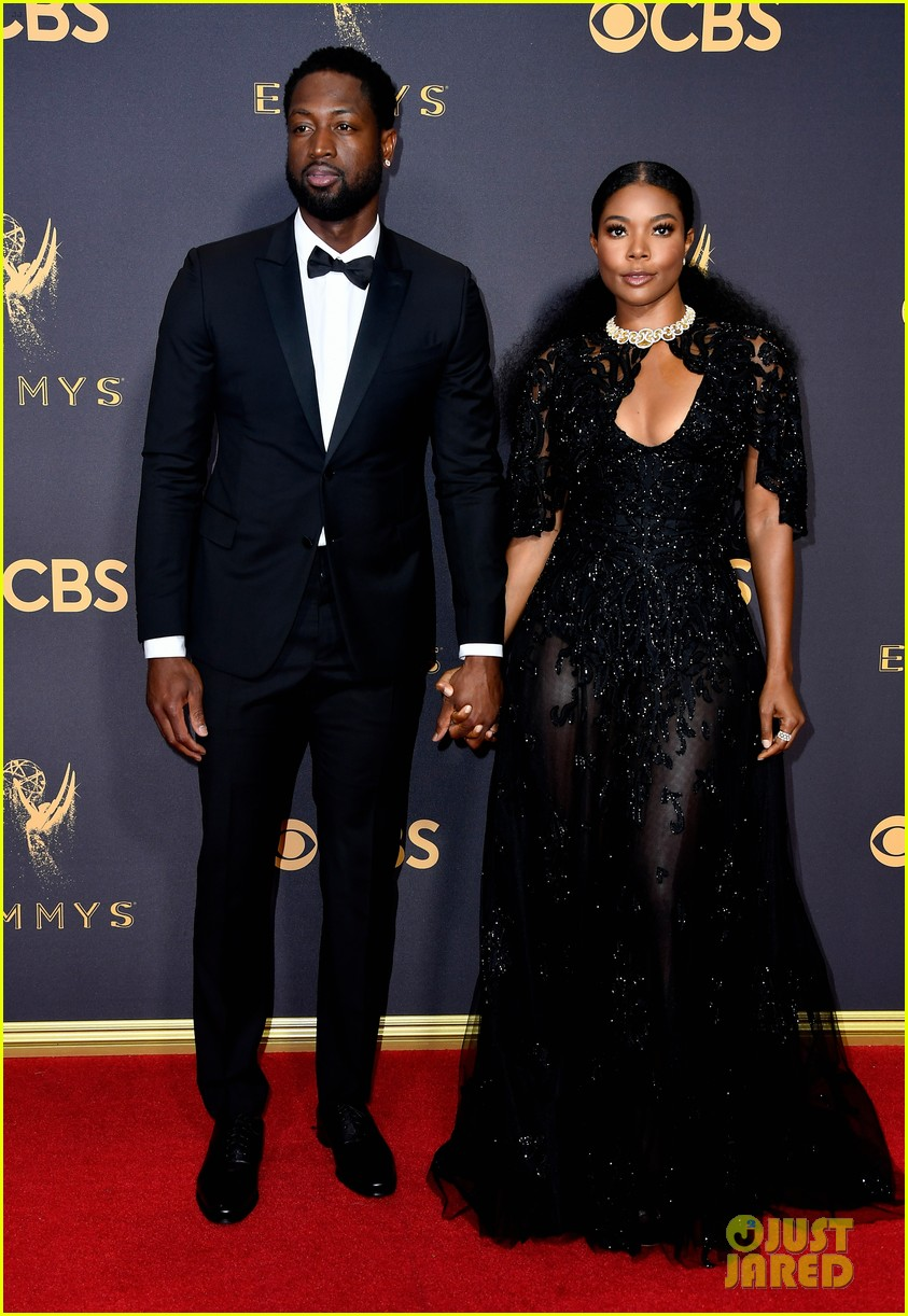gabrielle union dwyane wade arrive in style for emmys 2017 053959540