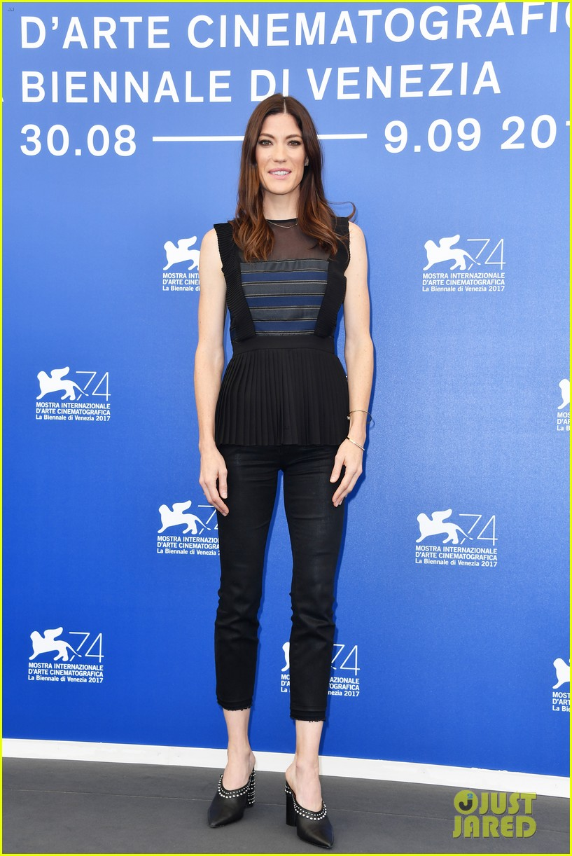 Jennifer carpenter brawl in cell block 99 photocall at the venice festival