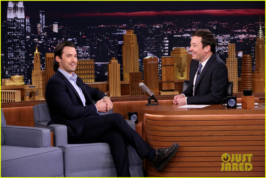 milo ventimiglia tells jimmy fallon that this is us fans make him cry 033965279