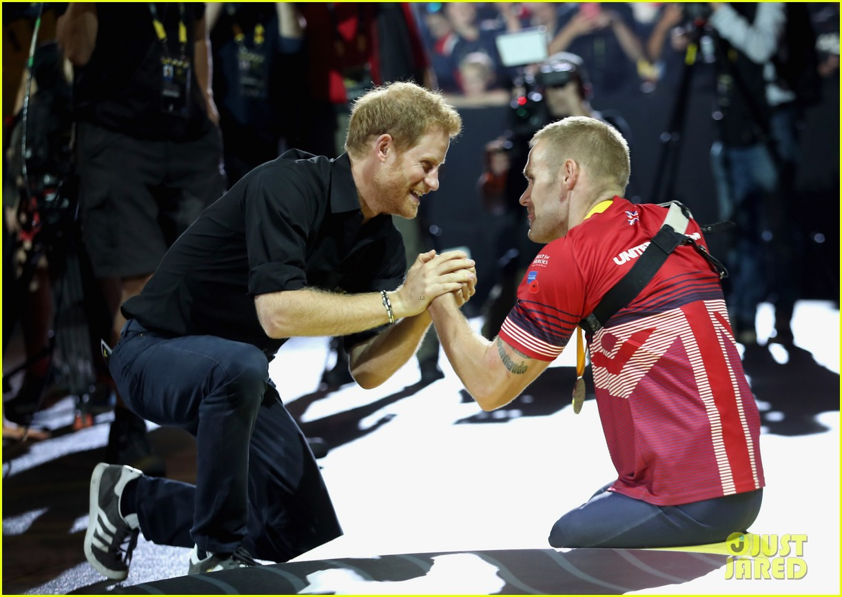 princes william harry make appearances on separate sides of the pond 043965126