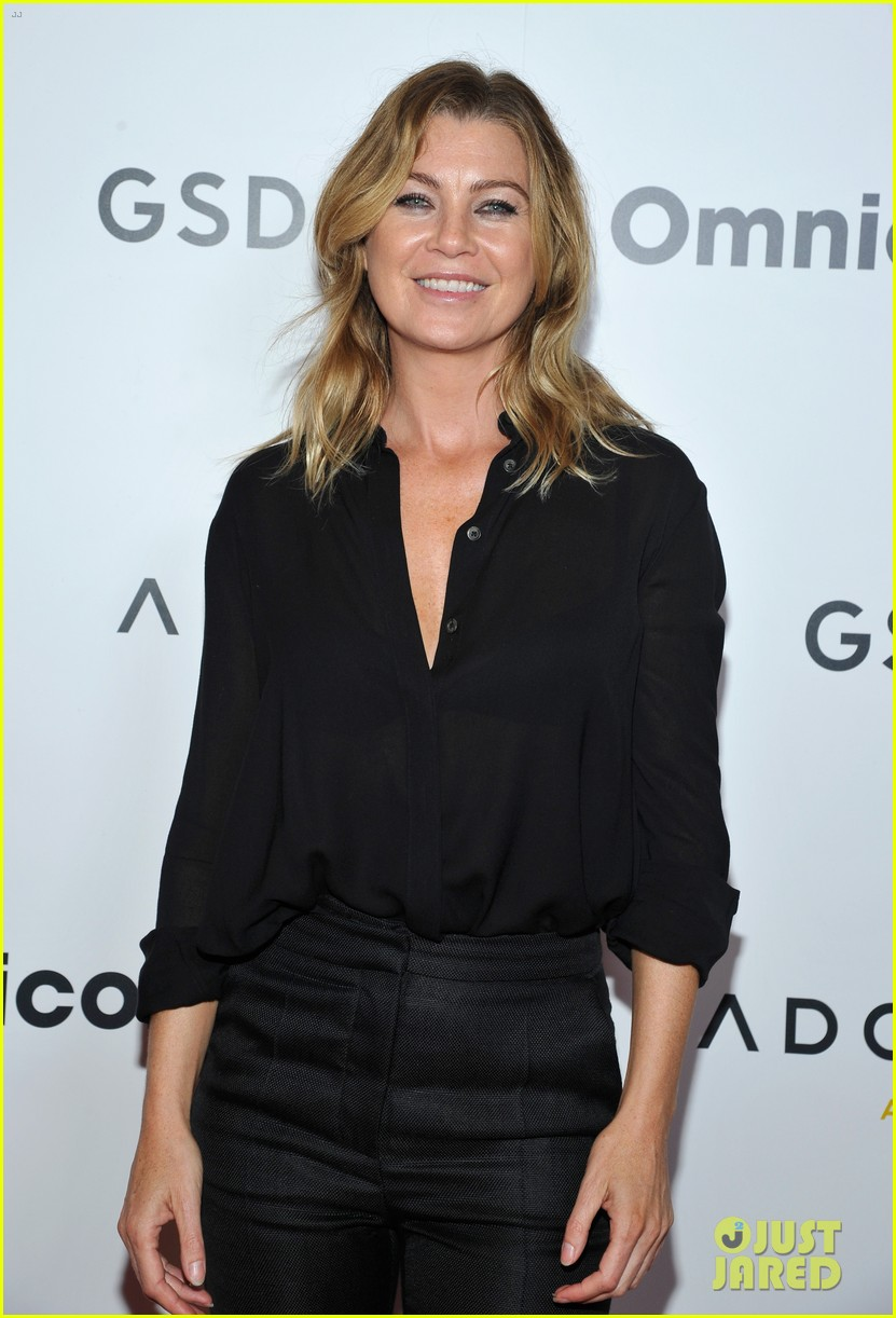 jesse williams is supported by ellen pompeo at adcolor awards 093961191