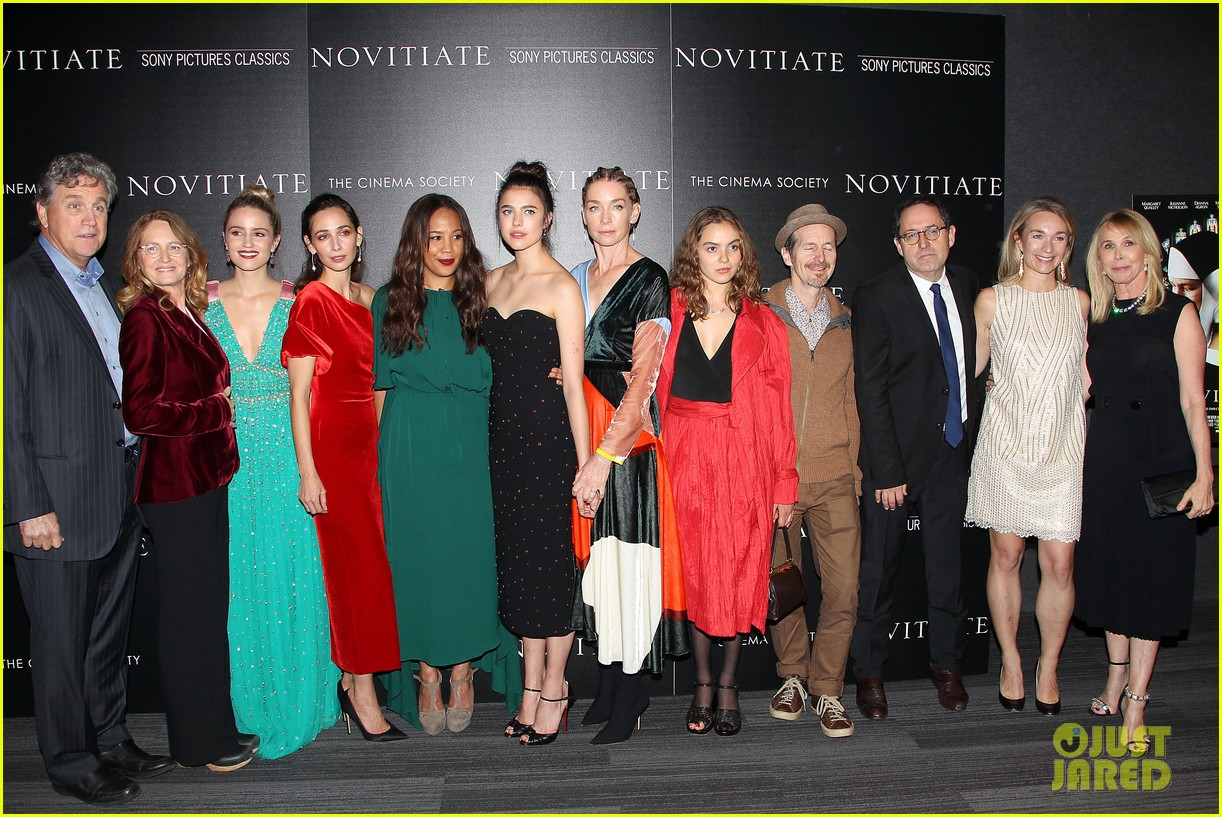 dianna agron and margaret qualley stun at novitiate screening 323978989
