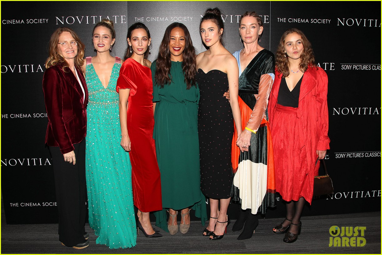 dianna agron and margaret qualley stun at novitiate screening 333978990