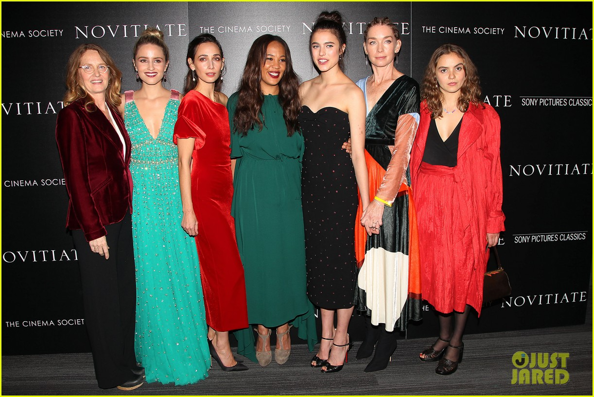 dianna agron and margaret qualley stun at novitiate screening 343978991