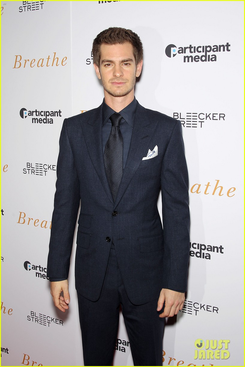 andrew garfield claire foy breath screening nyc 093970338