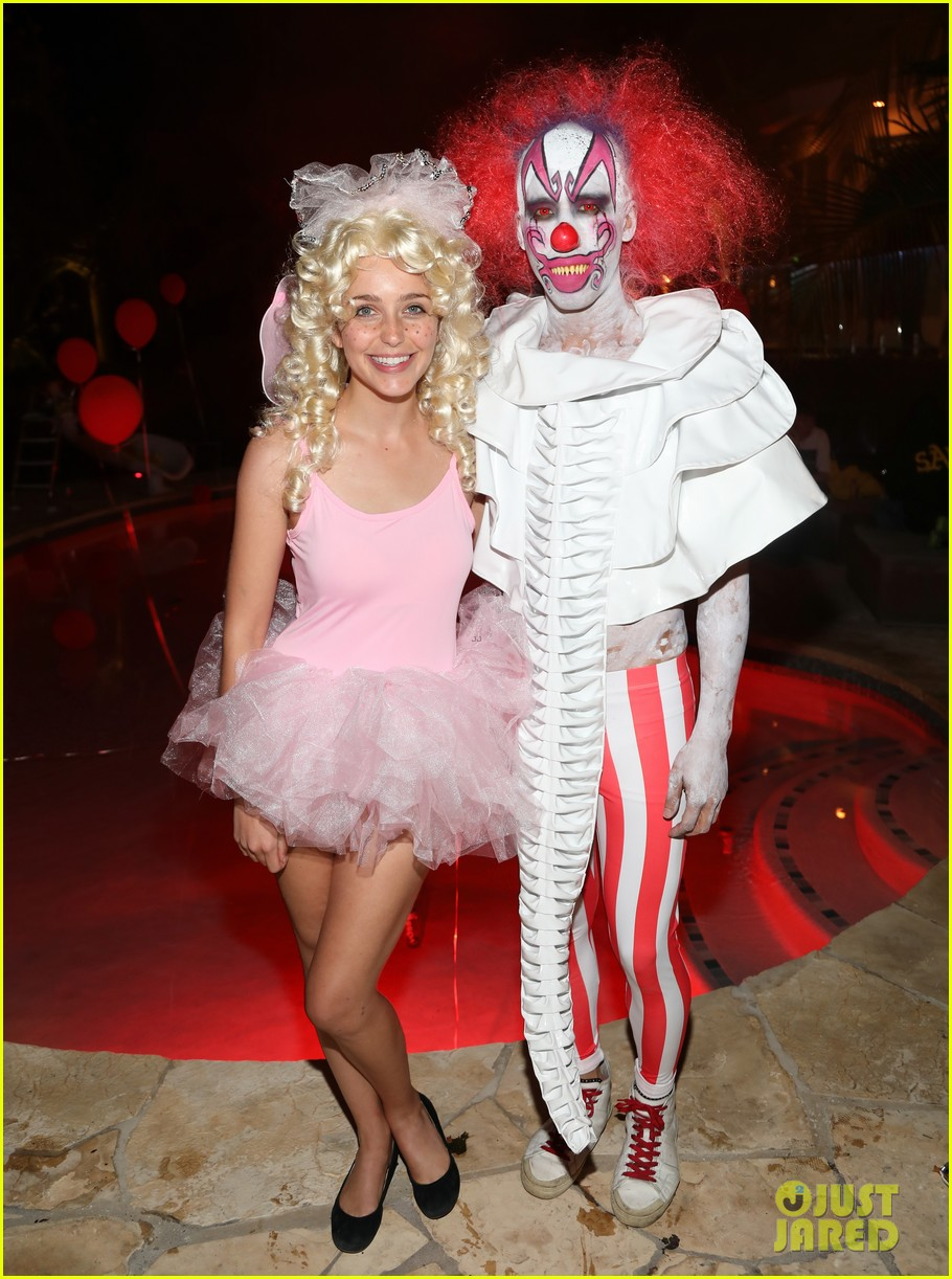 angela sarafyan georgie flores britt robertson just jared halloween 183979217