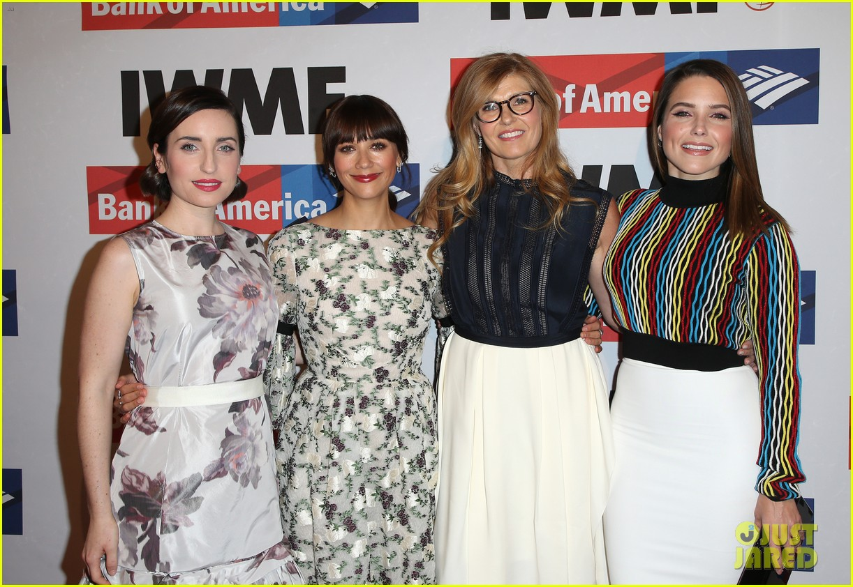 connie britton sophia bush rashida jones team up at international womens media 213978028