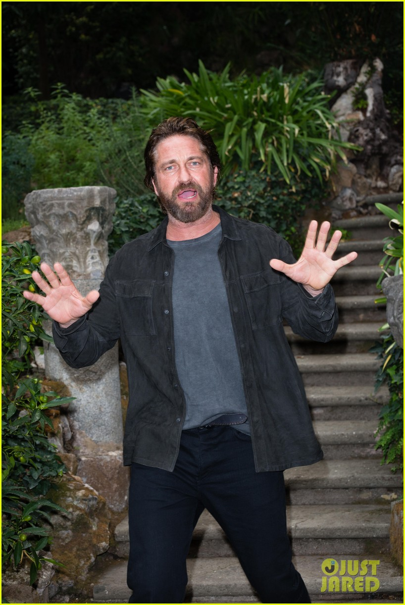gerard butler rome photo call geostorm 023976268