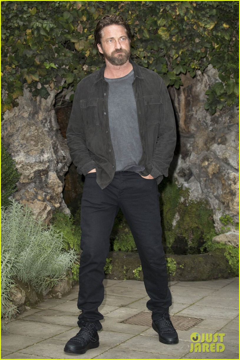 gerard butler rome photo call geostorm 073976273