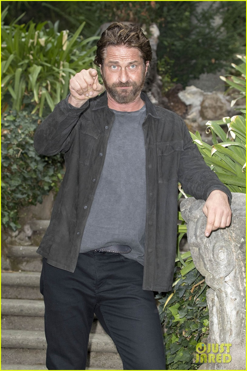 gerard butler rome photo call geostorm 123976278