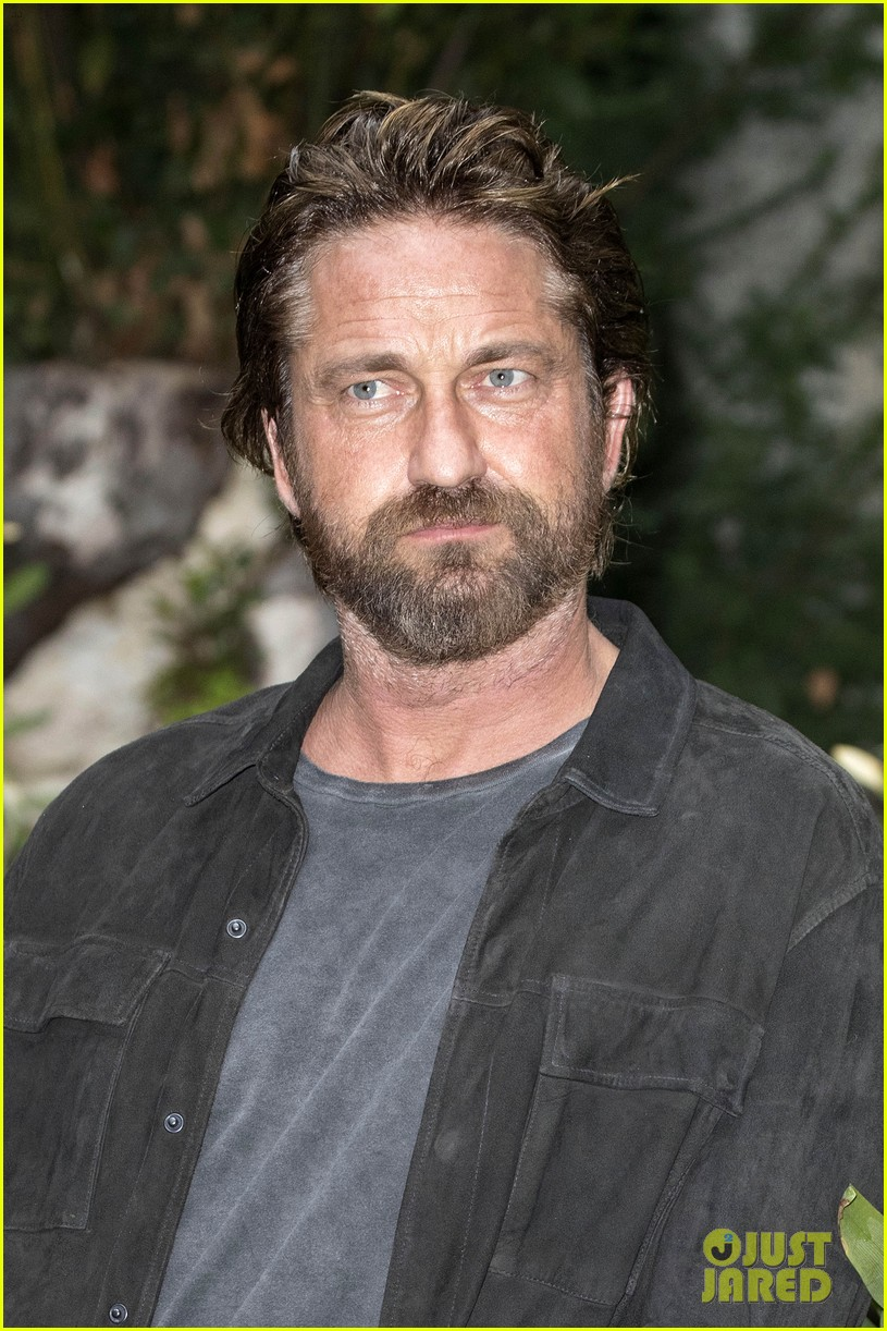 gerard butler rome photo call geostorm 173976283