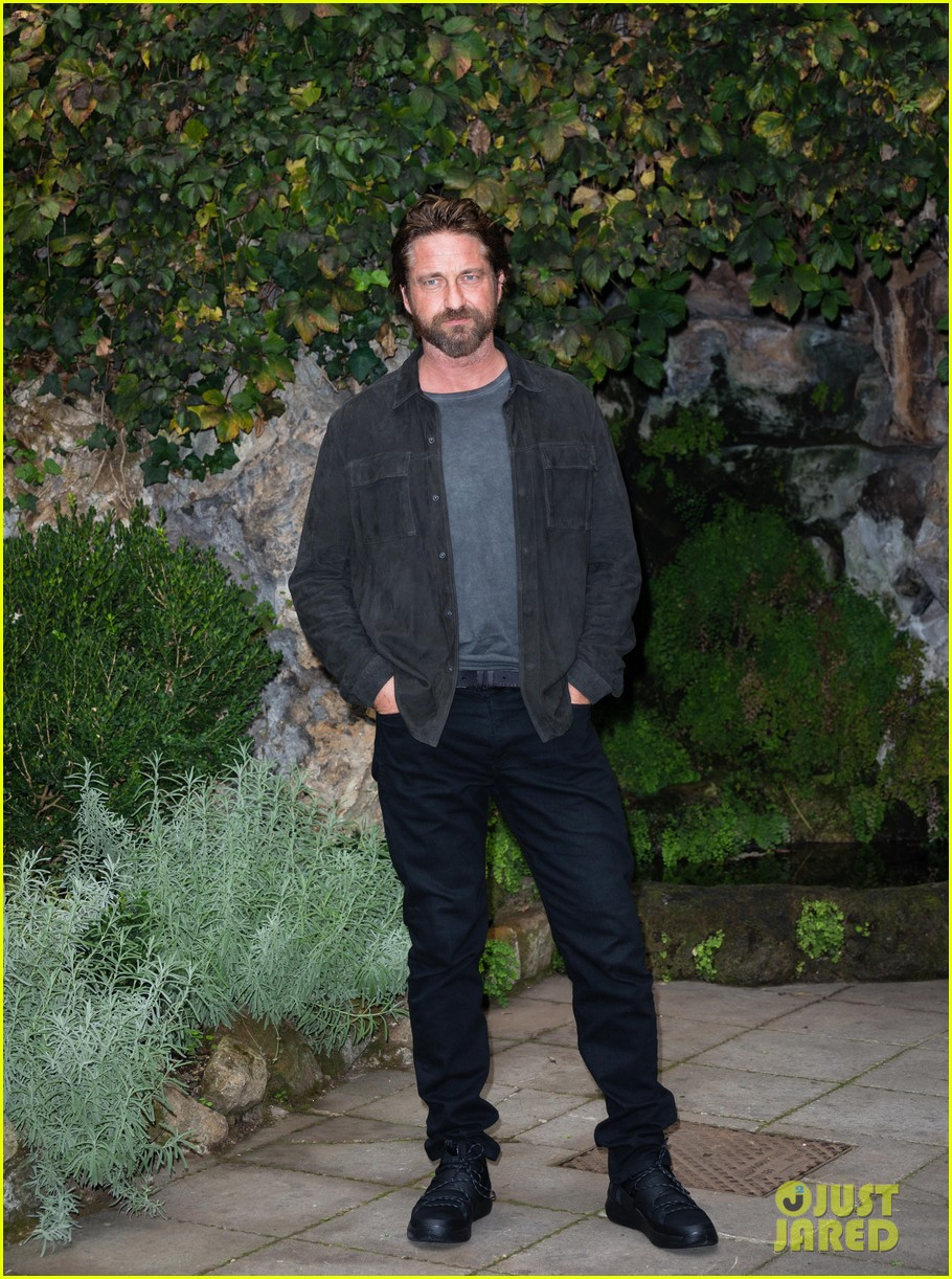 gerard butler rome photo call geostorm 213976287